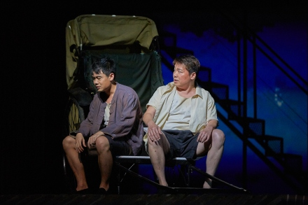 Sebastian Tan and Vester Ng in The LKY Musical (2015)