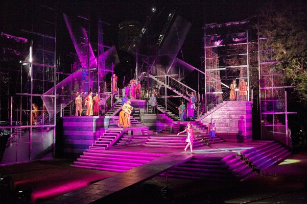 Company in SRT's Shakespeare in the Park - Romeo & Juliet (2)